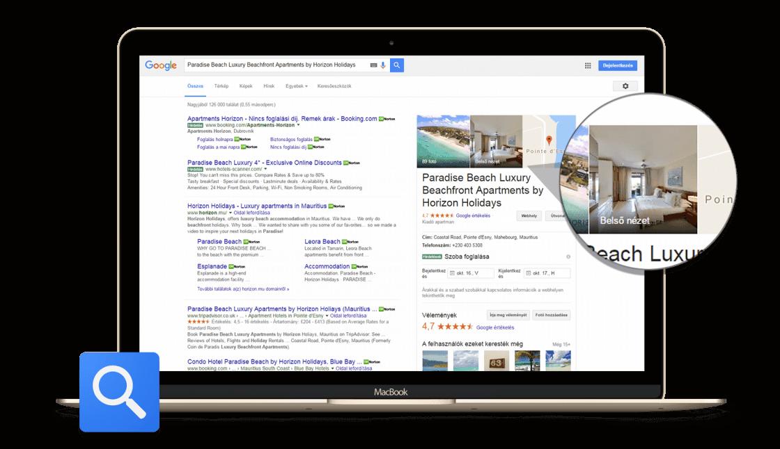 Brand 360 - Google kereső