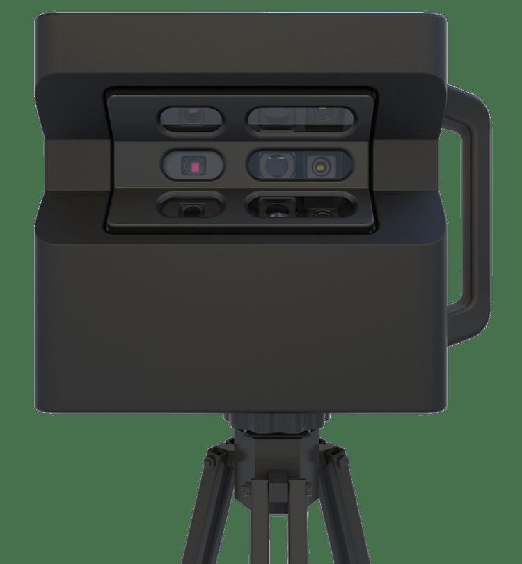 Matterport Pro2 kamera elölnézet