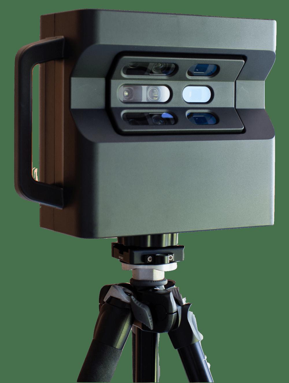 Matterport Pro2 kamera oldalról