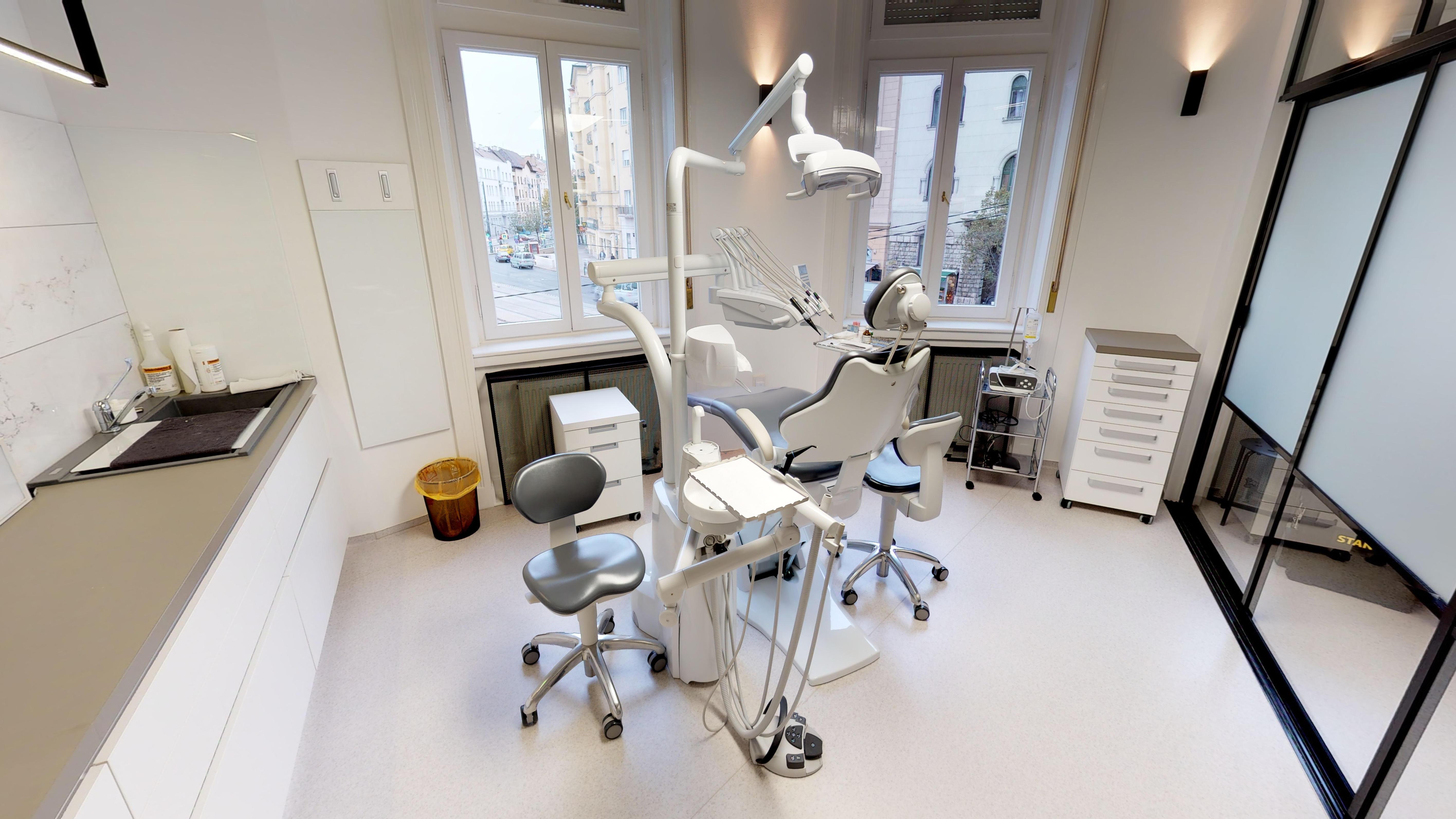 ACE Dental Budapest fogászat 3D Matterport virtuális túra részlet Brand360