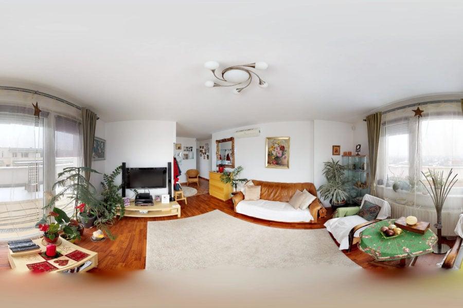 Kondorosi Lakópark lakás 3D Matterport virtuális túra részlet Brand360